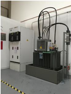 Installations électriques du centre de formation